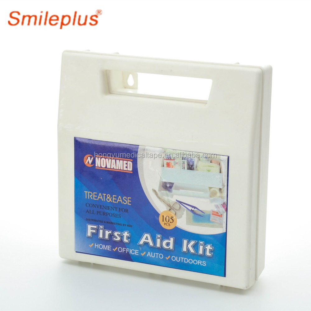 high quality basic first aid kit contents with certificate
