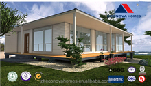 30 square meter Middle East prefabricated wooden house price with light steel structure and solar system