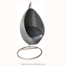 wicker hanging swing chair DW-SW259