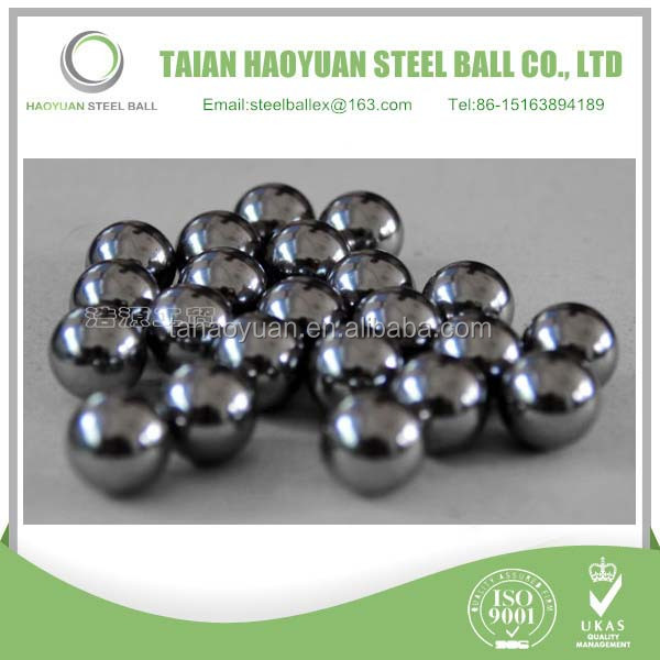 "China Haoyuan 1/4"" 3/16"" 1/8"" economical Bicycle/motorcycle/Cycle carbon steel ball for sale"