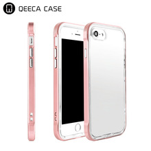 Impact 2 in 1 rubber bumper case for iphone 7 case shockproof TPU PC hybrid back cover