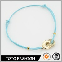 Promotion Product Lovely Friendship Wire Nylon Rope Bangle Cord Bracelet for Sale