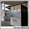 high quality customized fashion exhibit booth design