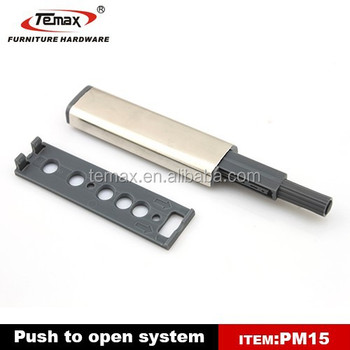 Kitchen Cabinet door Push to Open toggle door latch
