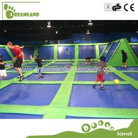 adults playballs bungee jumping trampoline fitness equipment