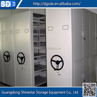 China wholesale market agents electric mobile shelving mobile library