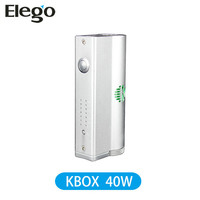 Kanger box mod Kbox 40W with subtank mini Vapor electronic cigarette Elego wholesale