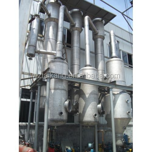 Multi-effect vacuum evaporator for waste water treatment plant,sea water desalination