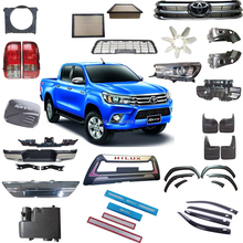 One-stop auto spare replacement parts Toyota hilux Revo 2015 body parts kit chrome accessories