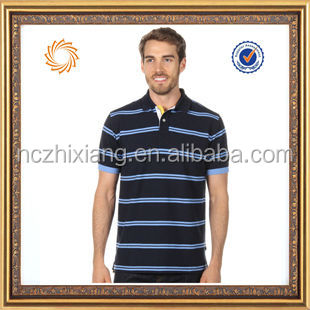 man polo shirt white and blue stripe