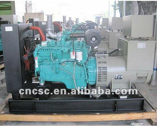 80kw power genset 80kw/100kva open type with cummins engine engine electrical Generator Sets with CE ISO