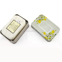 Luxury Bath Bar Soap for Removing Dead Cells with Lemon and White Rose Extract