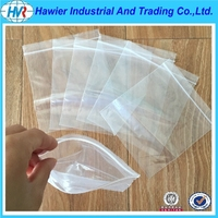 DIRECT CHINA LDPE PLASTIC ZIP LOCK BAG FOR FOOD STORAGE