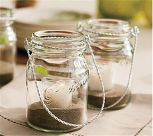Mason Jar with Wire Handle