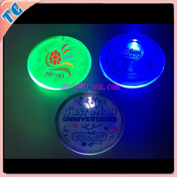 hot new products for 2015 led custom plastic button pin