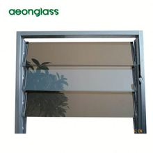 aluminium frame louver window glass with HIGH QUALITY