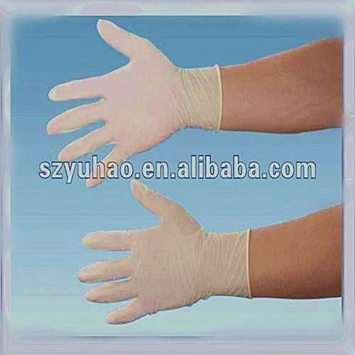 medical disposable sterile latex surgical gloves