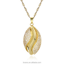 Custom Wholesaler Dubai Simple Gold Pendant Design men Jewelry