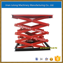 Scissor lifter used in warehouse/fixed hydraulic electric elevator