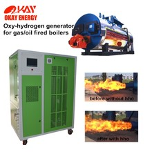 gas fired boiler efficiency increased low carbon hho oxy hydrogen generator for boiler