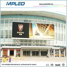 Discount of led display full color vedio by pole