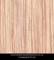 cheap majestic walnut recon wood veneer made from log for furniture mdf face skins