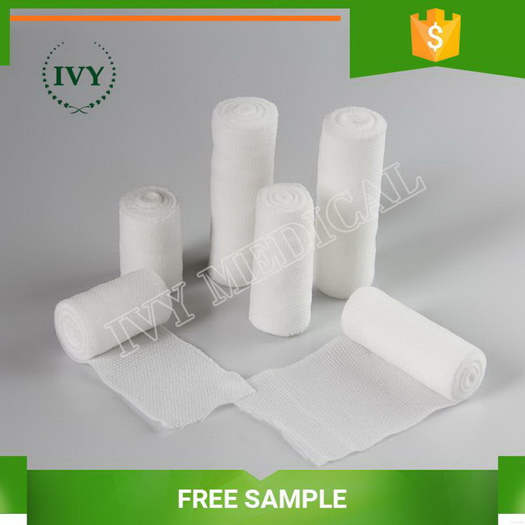 Top quality stylish elaborate gauze bandage with woven edge