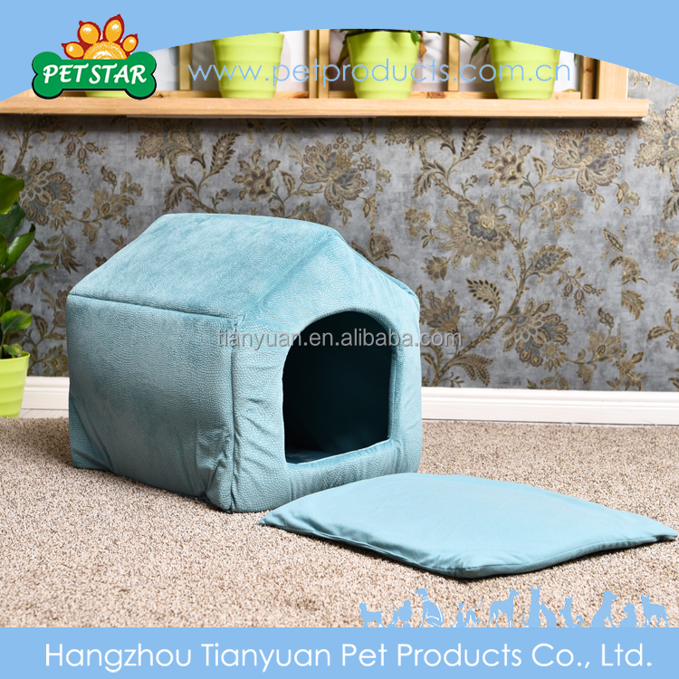 Popular Luxury Soft Push Unique Fabric Dog House