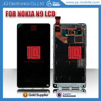 No dead pixcel cell phone lcd screen display for nokia n9,for nokia n9 lcd with touch digitizer assembly