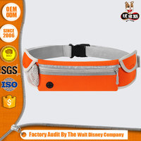 Outdoor Runner Belt Sport Waist Bag lightweight expandable For Cell Phone