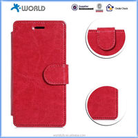 Leather Flip Case Cover for HUAWEI P8 Lite Phone
