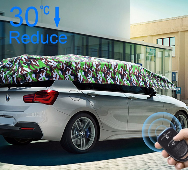 CAR SUNCLOSE Automatic  car umbrella car cover  car sun shade car sun visor car tent  car awning car shelter.jpg