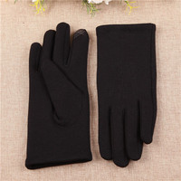 touch screen winter gloves black