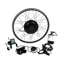 High speed !electric bicycle front / rear wheel 48v 1000w brushless hub motor ebike conversion kit