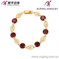 Xuping Fashion Elegant Rhodium Color Bracelet for women 73552