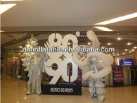 2015 New brand performance inflatable costumes