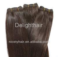 2013 New Product machine weft hair