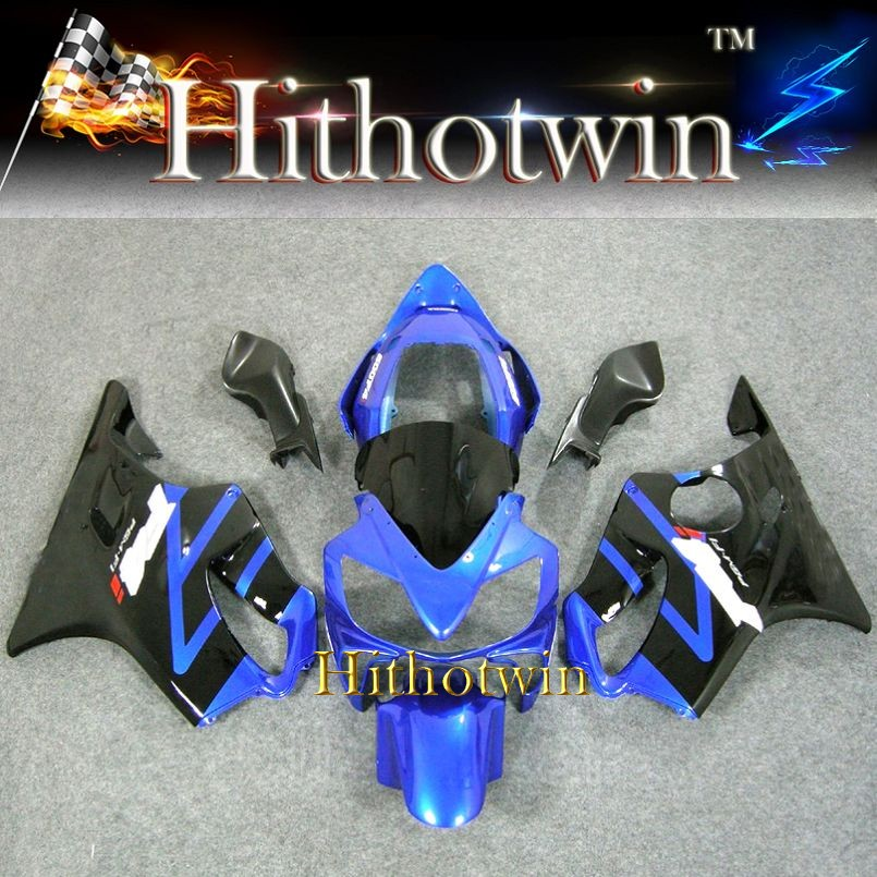 2004 2005 2006 2007 CBR600 F4i black blue For HONDA CBR600-F4i Fairings CBR 600 F4i CBR600F4I 2004 2007 Fairing