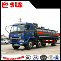 Dongfeng chemical tanker truck, ammonia tanker truck
