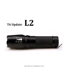 2017 New Tactical Flashlight E97 X800 CR EE XM-L L2 5000 Lumens led Torch Zoomable LED light Lamp by 3xAAA or 1x18650 or 26650