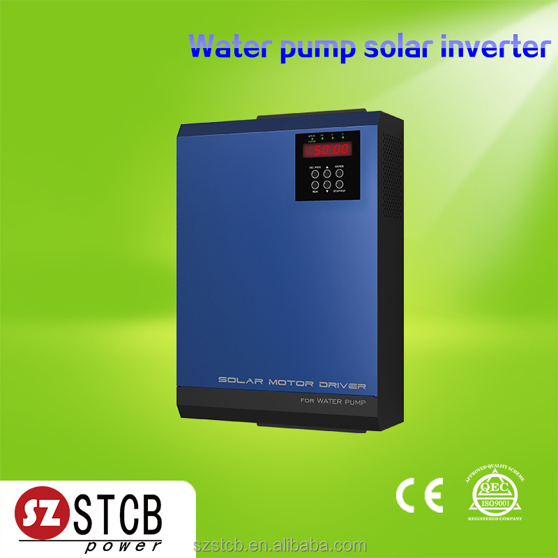 Three phase water pump solar inverter with mppt no need battery