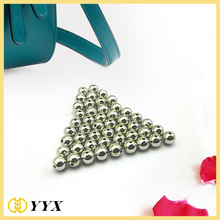 Plating gold nickel color custom logo beads wholesale