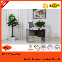 2015 China wooden office desk with drawer slide/office computer table design