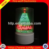 2014 hot sale wholesale led 3D usb dollar tree christmas ornaments manufacture