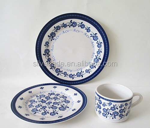 fine tableware with decal ceramics