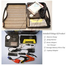 Vehicle Tools 6 Volt Jump Starter With Car Air Compressor