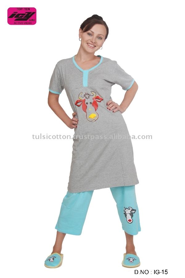 Girl's Fashions Quality Pajamas Suits