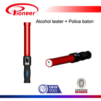 police baton type alcohol breath tester with printer