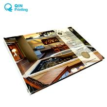 Free design custom hardcover catalog printing