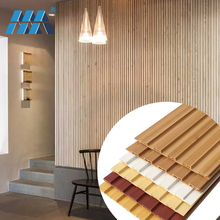 2018 Cheap price wall interior exterior paneling wooden composite outdoor wpc cladding pvc wall panel